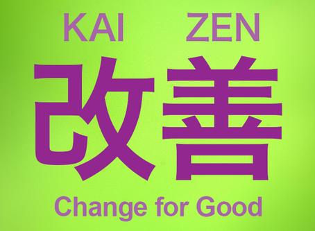 Kaizen: cum să te menții într-un proces de îmbunătățire continuă.
