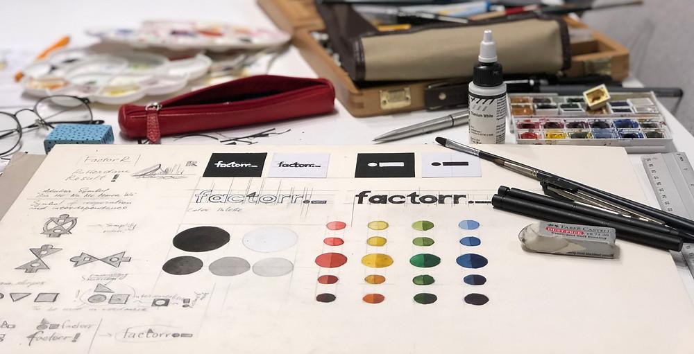 Brand identity Factorr
