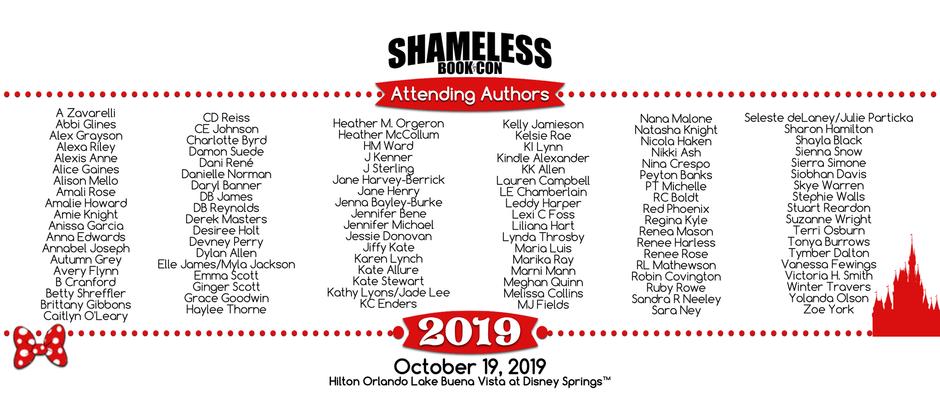 SHAMELESS BOOK CON 2019!!!!