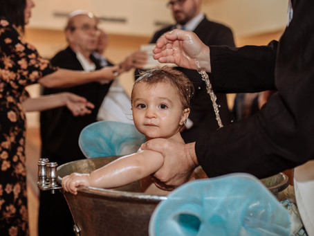 A Greek Orthodox Baptism