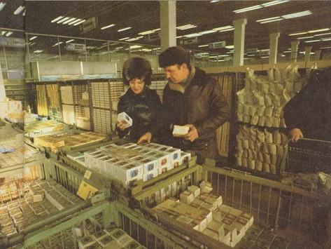 Produção e consumo de alimentos na Rússia Soviética: A realidade em números