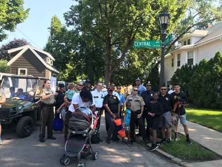 The NLPOA members participated in the Rondo Days Parade 2018
