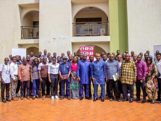 GFA PRESIDENT, EXCO MEET NEWLY APPOINTED NATIONAL TEAMS TECHNICAL & MANAGEMENT MEMBERS