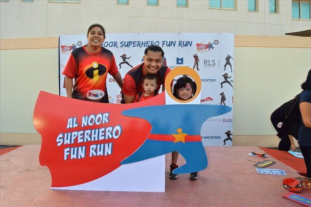 The Al Noor Superhero Fun Run will see thousands of participants dress up as their favourite superhero