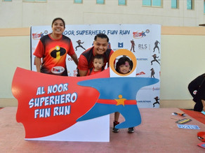 Al Noor Superhero Fun Run will see thousands of participants dress up as their favourite superhero