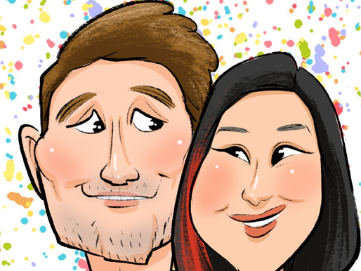 Creative Caricature Proposals: Boardwalk Love 2016