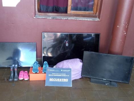 #Capital Esclarecieron robos en barrio Castañares y Pereyra Rosa