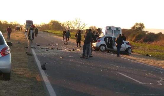 Ocho muertos en terrible accidente en Ruta Nº 16 - El Galpón