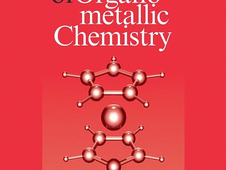 Опубликована новая работа в журнале Journal of Organometallic Chemistry