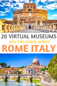 20 amazing virtual museums in Rome Italy