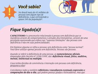 21/09 Dia Nacional da Luta das Pessoas com Deficiência @Symrise
