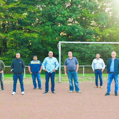 Heinz Blome zu Besuch beim TSV Horn mit den Vertretern des CDU-Stadtverbandes Horn