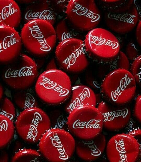 Tapitas de coca cola vintage