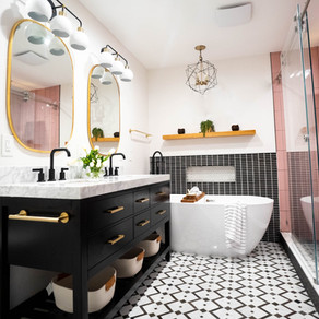 Fun & Flirty Bathroom