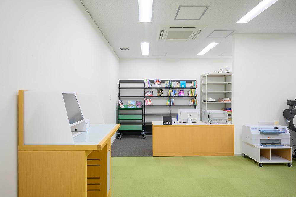 図書検索・予約・受渡コーナー