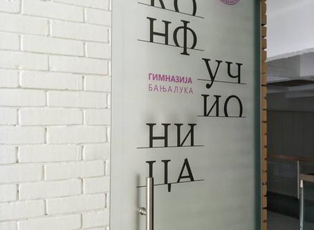У Гимназији отворена Конфуцијева учионица