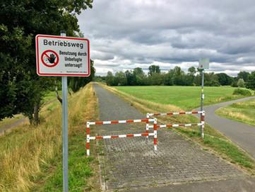 Betreten verboten... und doch erlaubt?