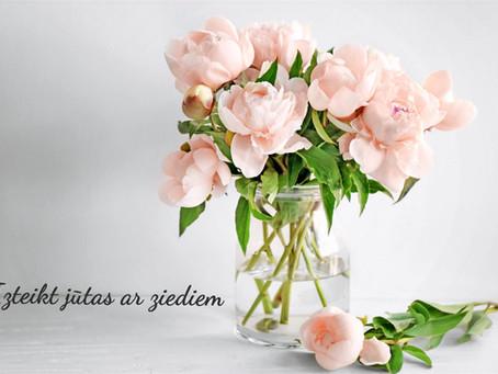 Izteikt jūtas ar ziediem: Ko katrs zieds simbolizē?