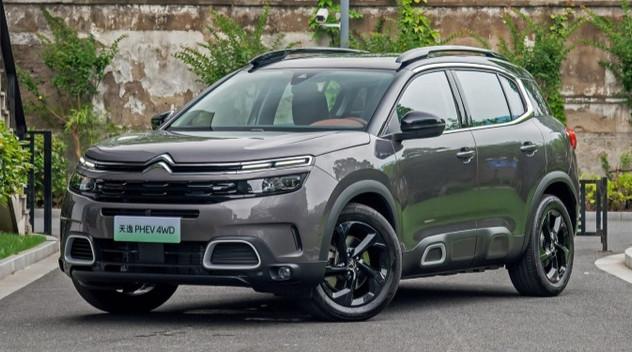 Citroën présente le C5 Aircross hybride en Chine