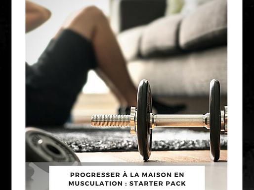 Comment progresser en musculation en étant à la maison ?