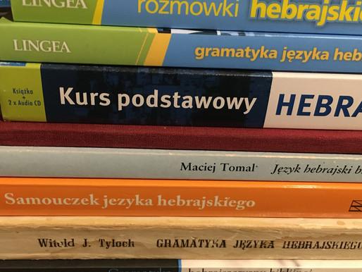 polskie podręczniki do nauki hebrajskiego