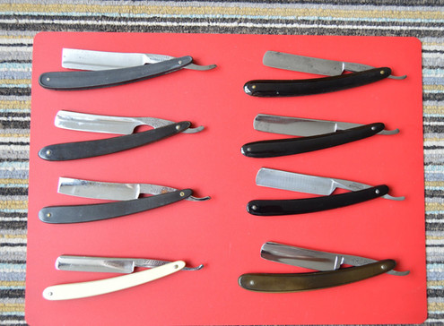 SELECTION OF RAZORS UP FOR SALE