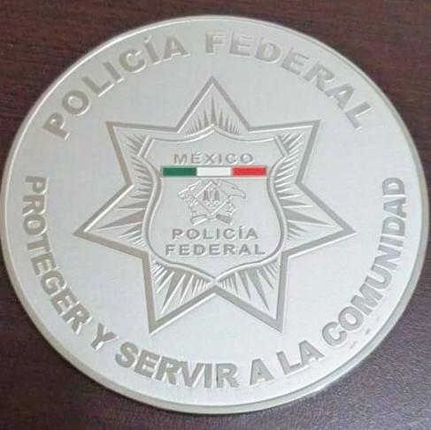 Medalla en acero inox