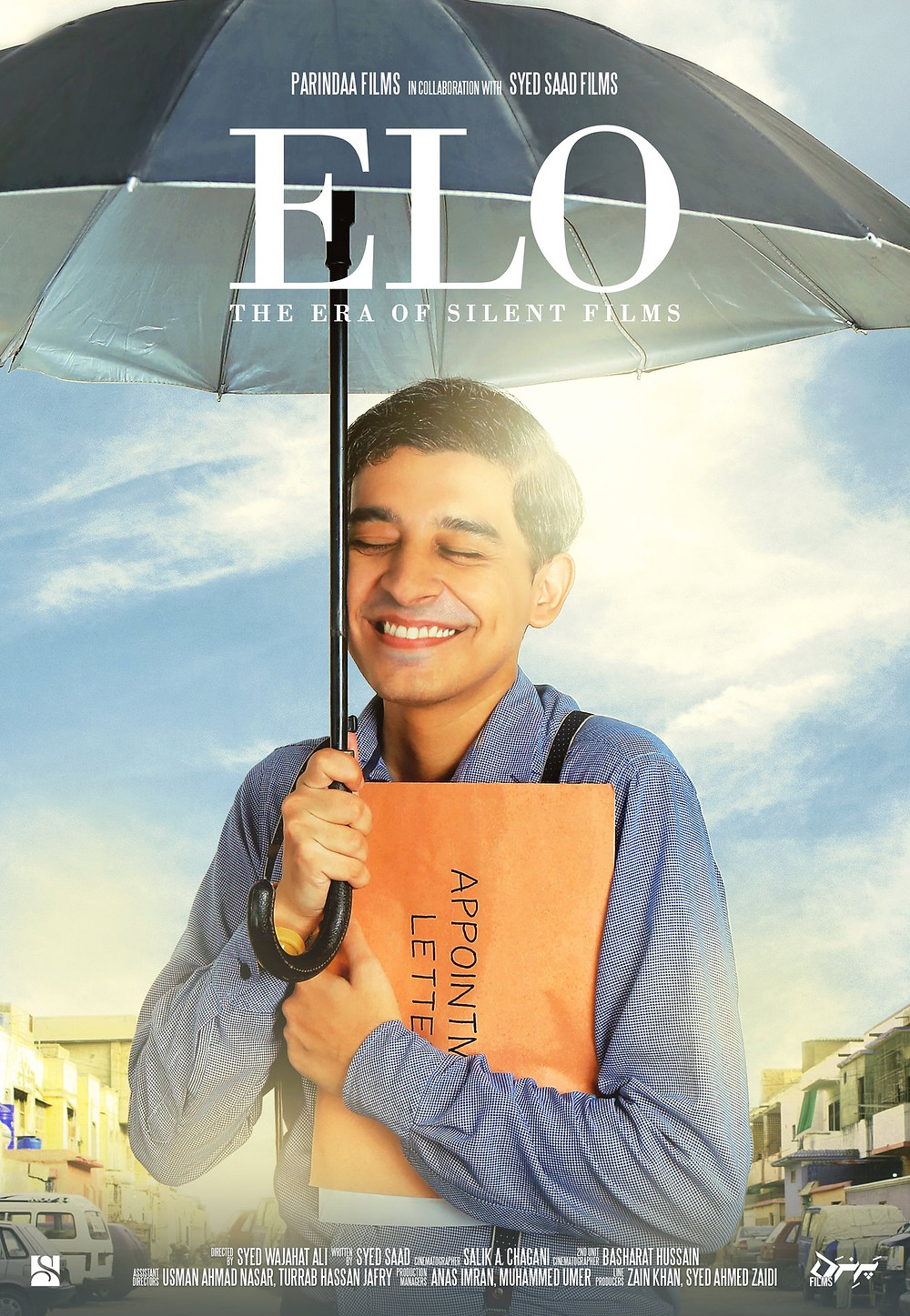 Movie Poster for Elo showing actor Syed Saad