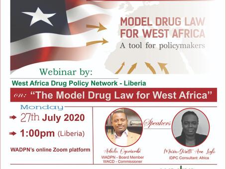 """Invitation: Webinar on """"Understanding the Model Drug Law for West Africa"""""""