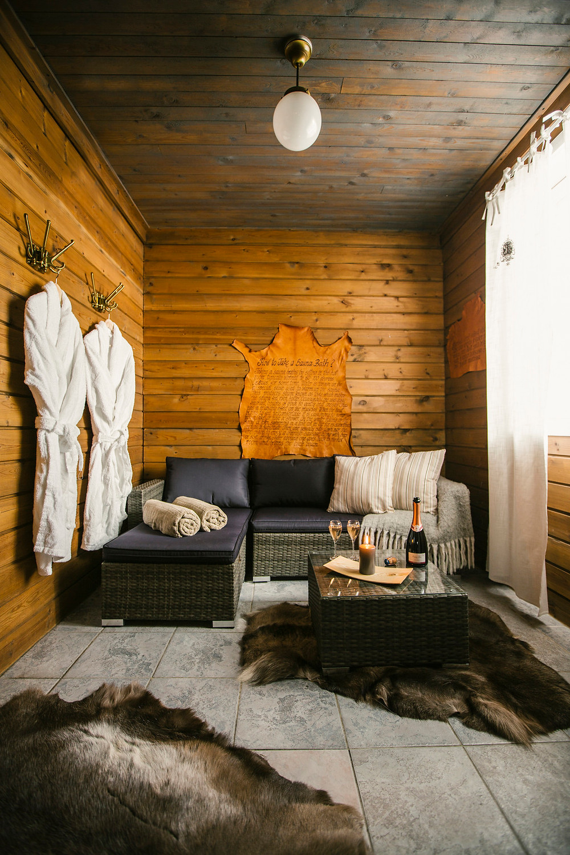 Lappish Log cabin