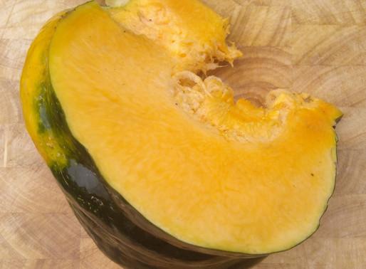 Pumpkin Salad with Harissa Dressing