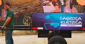 Ong cria carroça elétrica e triciclo para catadores de recicláveis