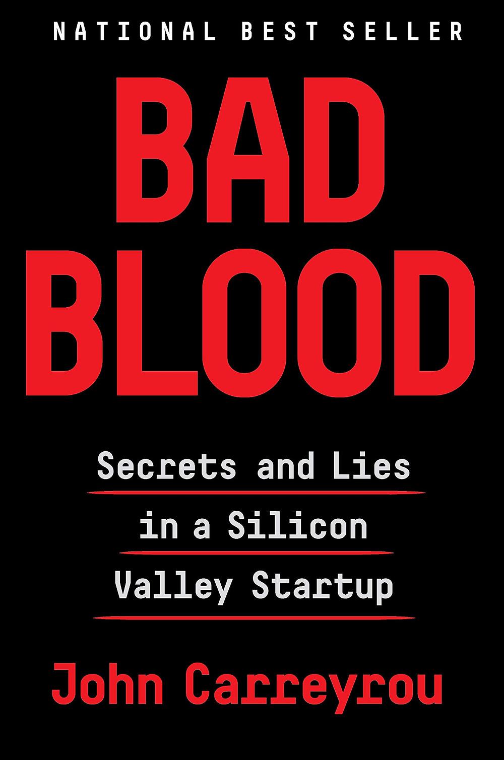 Bad Blood by John Carreyrou : the book slut book reviews