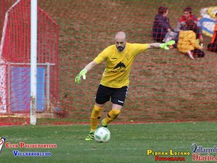 El portero del Villarrobledo, Javi López, se une al equipo de David Aganzo como vicepresidente de la
