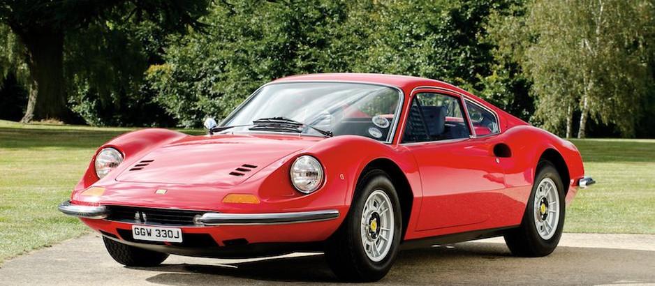 Dino 246 GT, una straordinaria e imperdibile evoluzione della versione 206