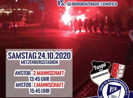 Heimspiel gegen Obergrenzebach am 24.10.20