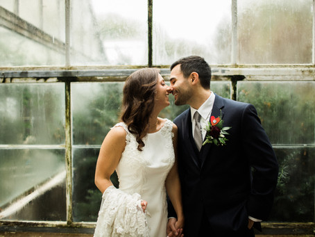 Erica + Ryan's Modern-Chic-Meets-Italian-Elegance Wedding in Illinois!