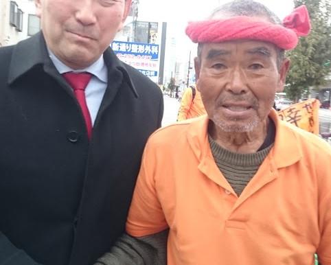 スーパーボランティアの尾畠春夫さんにお会いしました。