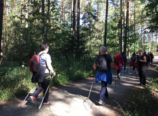Relacja z 2. edycji Jesiennego Rajdu Nordic Walking - Las Mokrzański