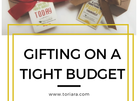 Gifting on a tight budget