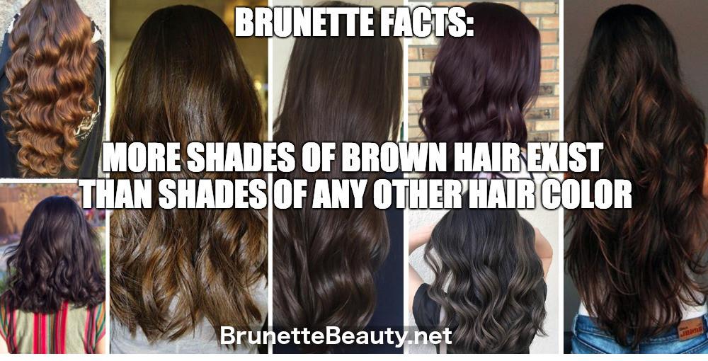Unique brown hair shades