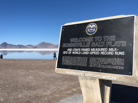 Utah Salt Flats - Wet vs. Dry Seasons
