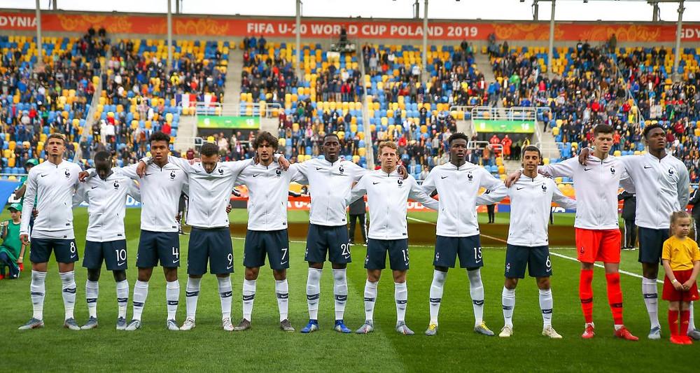Enzo Loiodice France U20 Mondial