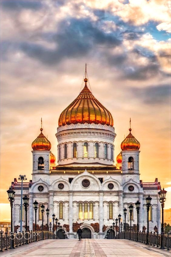 Church of the spilled blood! Can be on a  Neva river cruise