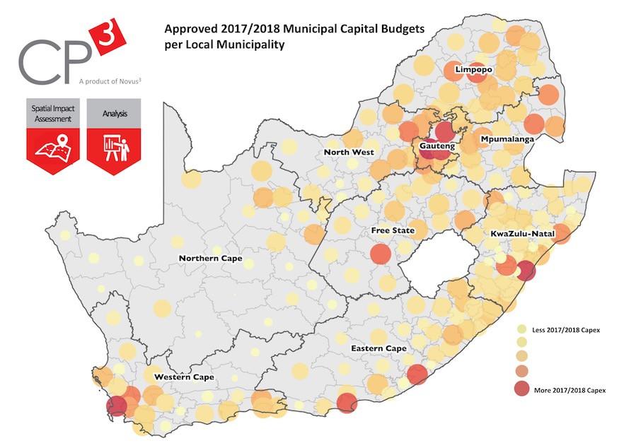 Approved 2017/18 Medium Term Expenditure Framework Municipal Budgets per Local Municipality