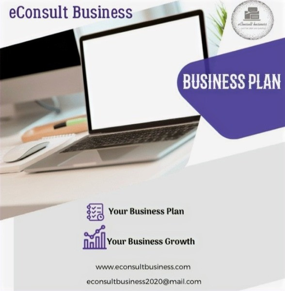 eConsult Business:  Business Plan Your Business Plan Your Business Growth Image