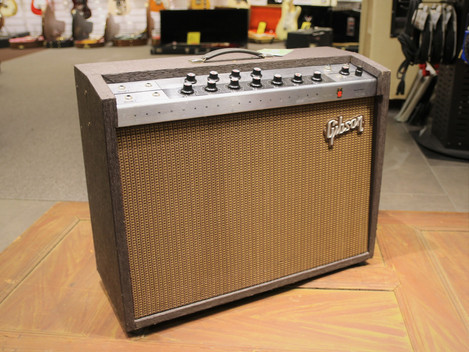 Såld, Urcool Gibson Vanguard Gitarrförstärkare från 1964, 9999:-
