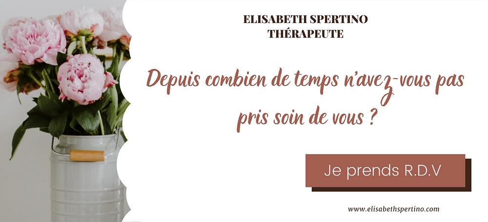 Prendre rendez-vous en ligne Elisabeth Spertino Hypnose Thérapie Draguignan