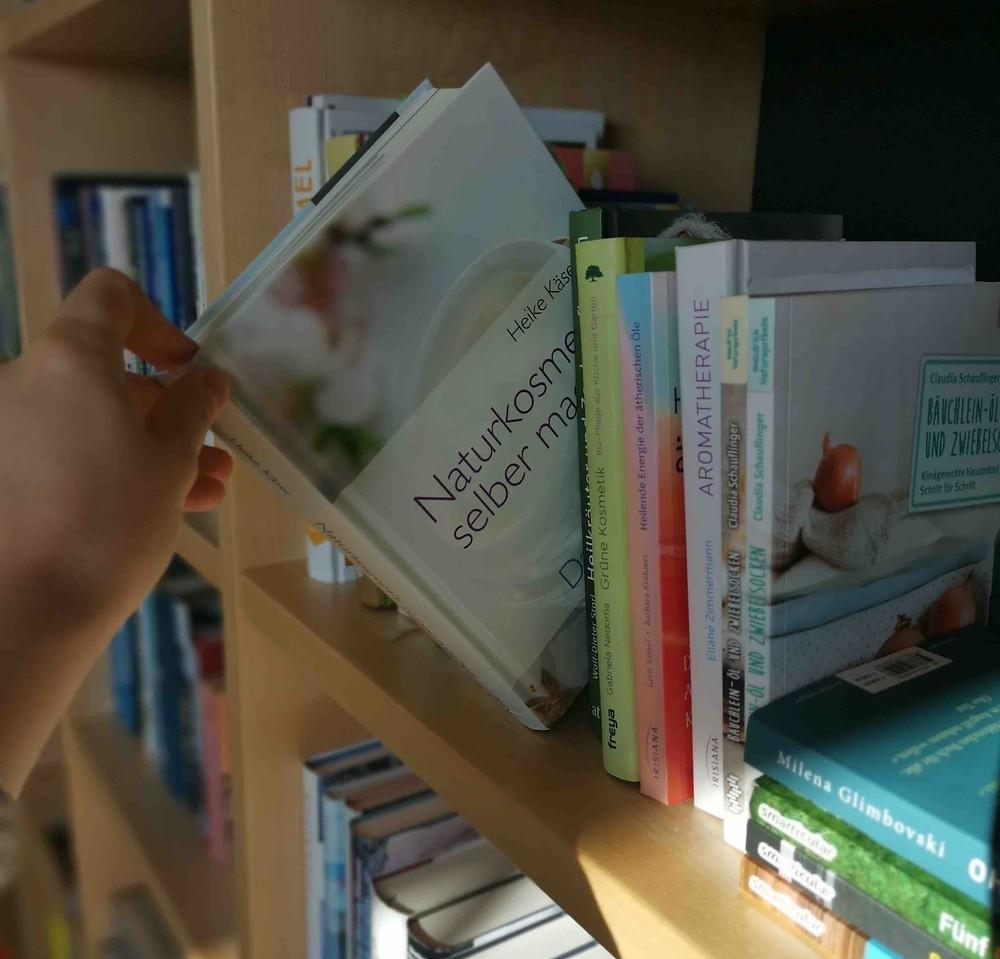 Buchempfehlungen Naturkosmetik Heike Käser, Buchtipps