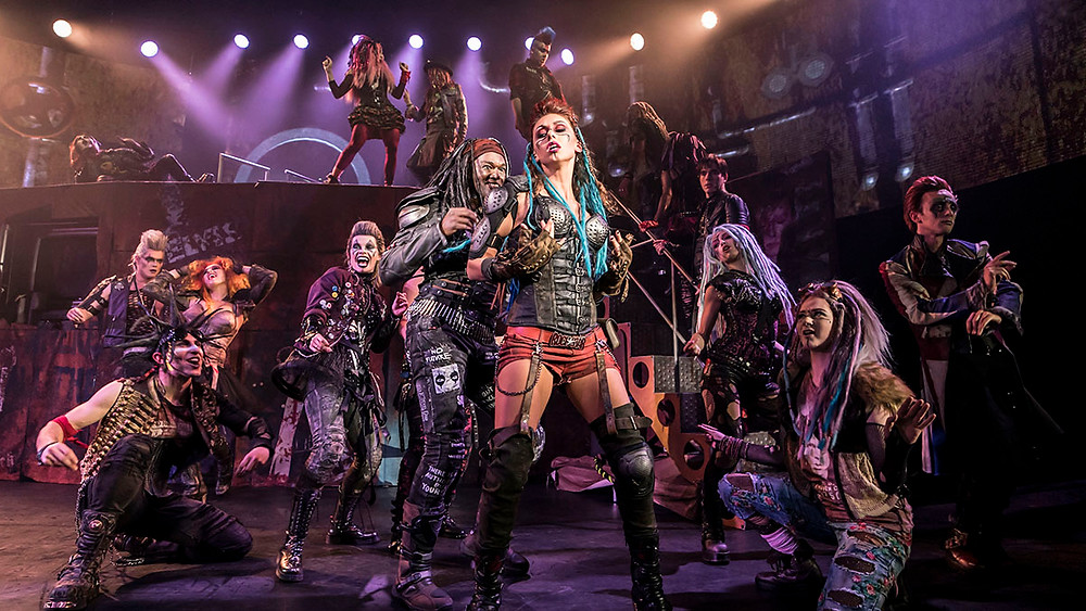 We Will Rock You at Blackpool Opera House. All pictures: Johan Persson